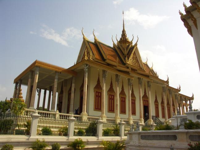 Im Königspalast in Phnom Penh
