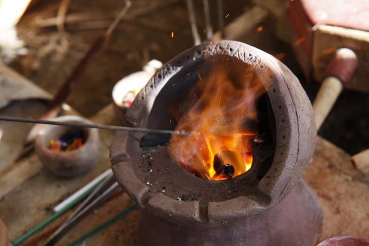 Wikinger - Kunstwerke aus dem Feuer
