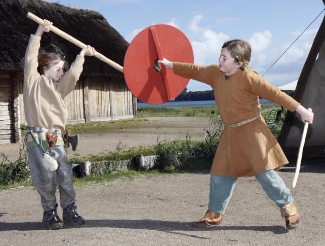 Wikinger - Kinder sind hier Kinder