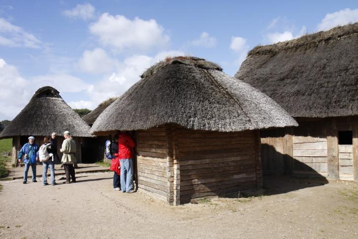 Haithabu - die sieben Wikingerhäuser