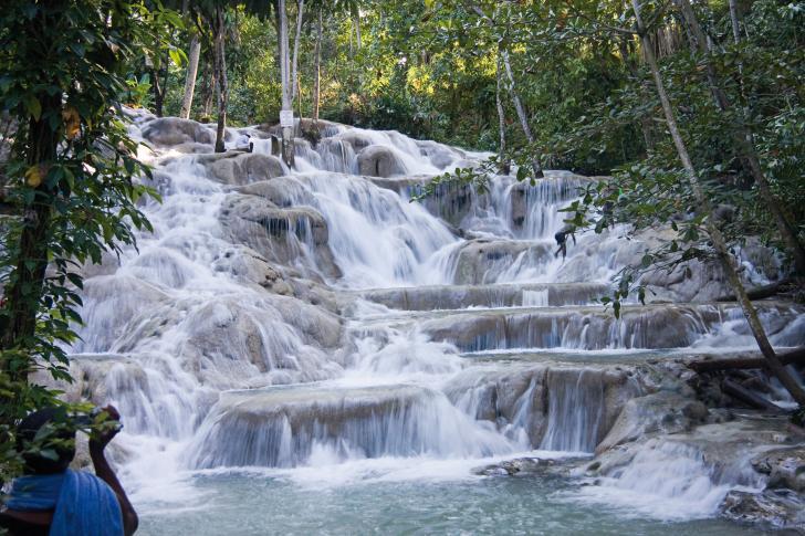 Ochos Rios Wasserfall, Jamaika