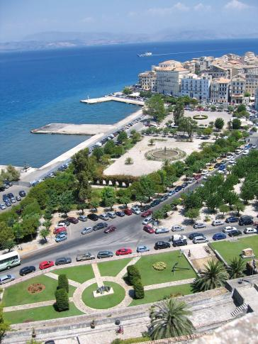 Stadtpark Korfu - Griechenland