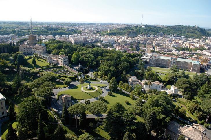 Vatikanische Gärten - Vatikanstadt