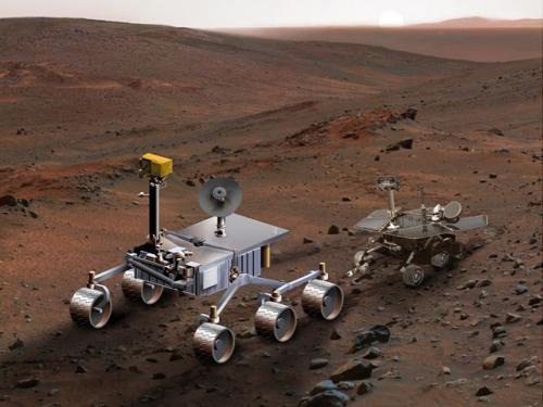 Die Mars-Roboter