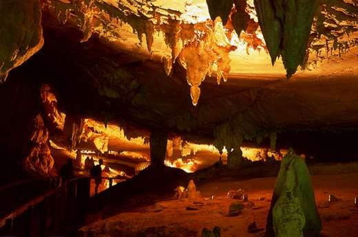 Spektakulär: Sarawaks zahlreiche Höhlen.