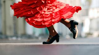 Flamenco Tanz, Málaga, Spanien