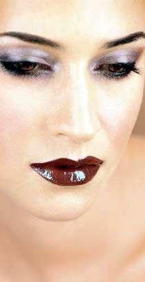 Frau Lippen schmink