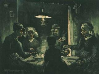 "Van Goghs ""Kartoffelesser""."