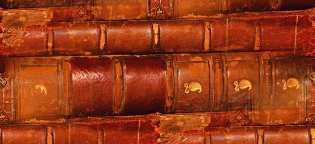 alte Lederbücher