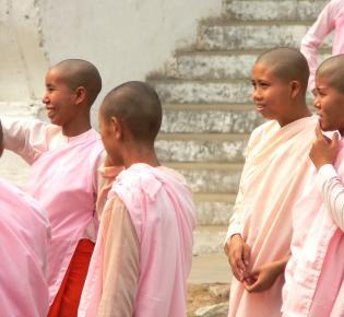 Buddhistische Nonnen