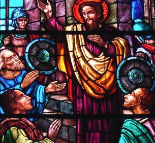 Jesus - Kirchenfenster