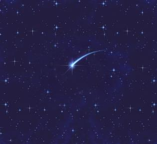 Sternschnuppe - und ein Traum wird wahr?