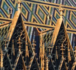 Stephansdom in Wien - Detail