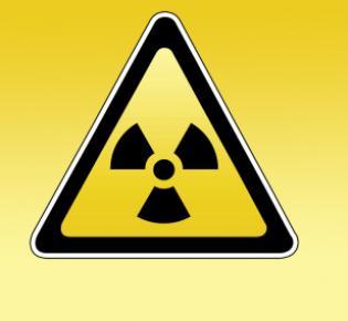 Warnzeichen Radioaktivität