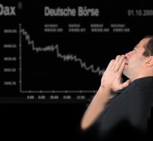 Wirtschaftskrise an der Deutschen Börse