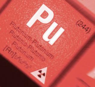 Plutonium im Periodensystem