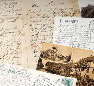 Briefe und Postkarten, 19. Jh.