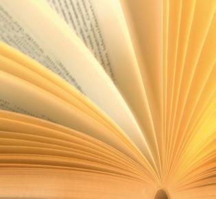 Buchseiten aufgeblättern