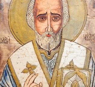 Ikone Sankt Nikolaus