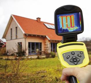 Wärmebildkamera im Einsatz