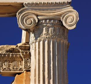 Erechtheion Tempel, Akropolis, Griechenland