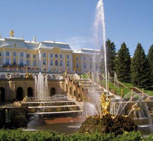 Peterhof Palast, Sankt Petersburg, Russland